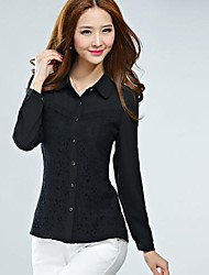 Women's Clothing Han Edition Of Bud Silk Shirt Large Code Base Shirt