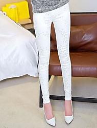 MEROKETTY®Women's Fashion High Elastic Lace Legging Pants