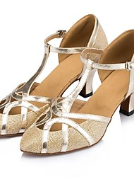 sandali delle donne samba non personalizzabili spumanti scintillio scarpe buckie ballo (più colori)
