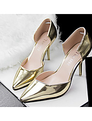 Beauty Girl Women's Vintage OL Style Sexy Pierced Pointed Toe Wedding Shoes
