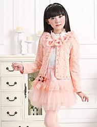 mode douce princesse Vêtements ensemble des filles (y compris manteau, t-shirt, jupe)