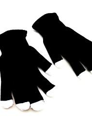 7 Режим мигает черные перчатки рейв изменение цвета пальцем свет
