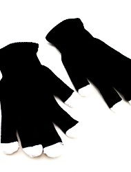 7-Mode-LED blinkt schwarze Handschuhe Rave-Farbwechsel Fingerlicht