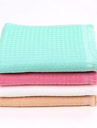 Thouse®Double Dyed Waffle Wash Towel   100% Cottonl    32cm*74cm