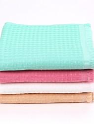 thouse®double teints serviette de lavage de gaufre 100% cottonl 32cm * 74cm