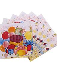 Coway 30*30*1 20 pcs/Package Children Happy Party Supplies Paper Napkin