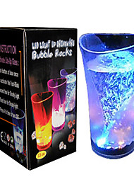 LED Cup Novelty Multicolor Water Induction Plastic DC 3V