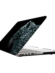 Wild Tiger Pattern Full-Body Protective Plastic Case for 13-inch/15-inch MacBook-Pro with Retina Display
