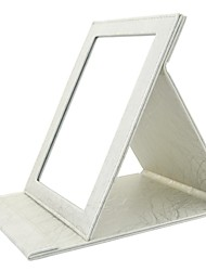 MAKE-UP FOR YOU Large Cosmetic Mirror (Silver)
