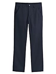 Men's Straight Leg Plain Front Utility Pants