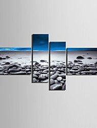 Canvas Set Landscape Modern,Four Panels Vertical Print Wall Decor For Home Decoration
