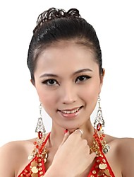 Dance Accessories Jewelry Women's Metal Tassel(s) Christmas / Halloween 15cm