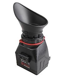 kamerar qv-1m visor lcd con liberación rápida la placa base para las cámaras, réflex