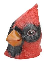 SYVIO látex de alto grado cabeza de ave roja de halloween máscara del slip-on
