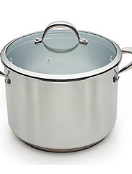 BODEUX® Platinum Royal Series High Soup Pot 24cm 304 Stainless Steel Dia 24cm*18cm