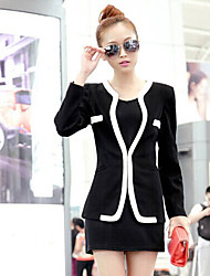 Women's Blazers & Sport Coats , Cotton Bodycon Shangmei