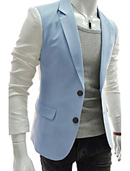 Hisen Men's Casual All Match Suit Coat