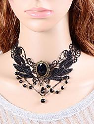 Monika mulheres Europa e América do laço colar elegant gothic