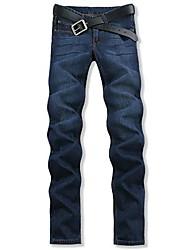Männer gerade große Mann-Jeans Hose