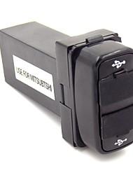 speciale 2.1a 2xUSB uso presa d'interfaccia per mitsubishi con spia luminosa