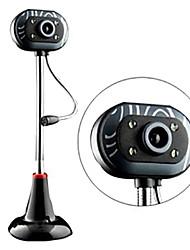007 12.0 megapixel webcam notte-versione usb drive-libero con il microfono