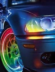 Супер яркая светодиодная подсветка для колес, 2 шт.