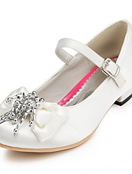 Girl's Shoes Wedding Shoes Comfort Flats Wedding Pink/Red/Ivory/White