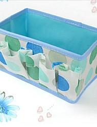 Multi-purpose Purple Flowers Storage Box