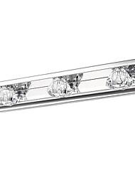 Lámparas de pared, 3 luz, artístico Acero inoxidable Recubrimiento MS-QJ5740