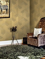 papel de parede wallcovering, contemporânea geométrica pvc wallpaper