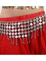 Dance Accessories Jewelry Women's Metal Coins / Tassel(s) Christmas / Halloween