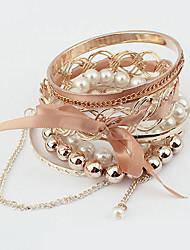 modo del metallo del braccialetto di stile di allacciatura delle donne mm