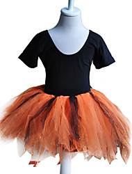 Dancewear Girl's Cotton/Tulle Ballet Dance Dress Kids Dance Costumes