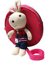 De los niños de la muchacha del muchacho del algodón de la historieta del conejito contra mochila maleta perdida hombro