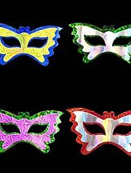 Coway партия партия для выполнения бабочки стиль одного и двойной маски слоя бумаги (случайный цвет)