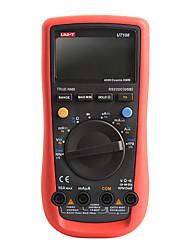 UNI-T UT108 Цифровой мультиметр Ручной Вольт Ампер Ом тестер Темп Емкость
