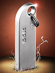SSK sfd216 pen drive flash de 32GB USB3.0 metal prateado