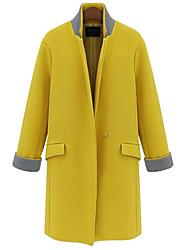 Beier slim-encaixe casaco de lã das mulheres