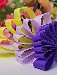 Einfarbig 1 Zoll Grosgrain Ribbon- 50 Meter pro Rolle (mehr Farben)