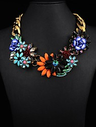 Women's Fashion Flower Necklace