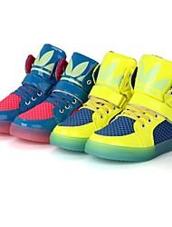 Sneakers de diseño ( Azul/Rosado ) - Novedad - Cuero sintético