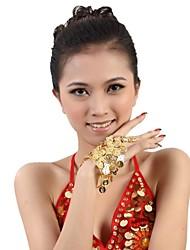 Dance Accessories Jewelry Women's Sequined Metal Coins Christmas Halloween