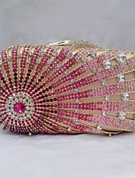 Women's Fashion Design Rhinestone Bridal Clutch Bag