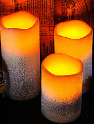Romantic White Creamy Aromatherapy LED Electronic Candle