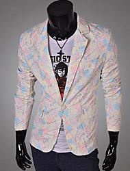 zlou print floral dos homens ternos blazers