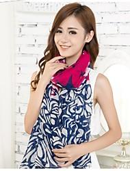 les femmes ont augmenté écharpes en voile de fil bali châles écharpe
