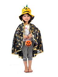 divertida calabaza de halloween manto