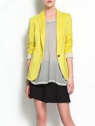 coat básico paletó fino blazer outerwear das mulheres