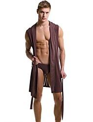 alta qualidade robes de banho quimono sleepwear masculina