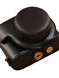 pajiatu® ретро пу камеры кожа кожа масло защитный чехол для Canon Powershot G1X Mark II G1X м2